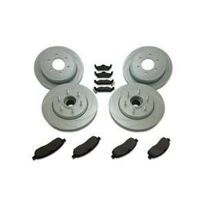 Stainless Steel Brakes A2361001 SHORT STOP SLOTTED ROTOR