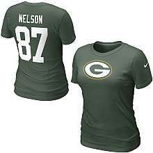 Nike Green Bay Packers Name & Number T Shirts   Buy Green Bay Packers