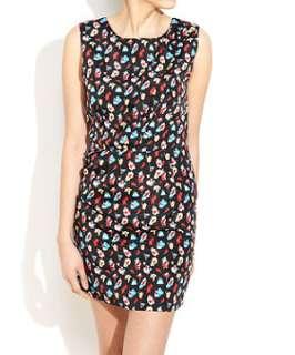 null (Multi Col) Mela Floral Print Dress  249578799  New Look