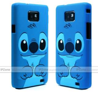 New Blue Cute Disney 3D Stitch Hard Case Cover For SAMSUNG GALAXY S2