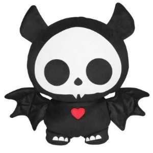 Skelanimals Glow in the Dark   Diego the Bat 8.5 Plush