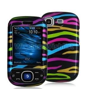 Rainbow Zebra Skin Case Cover for Samsung Strive A687