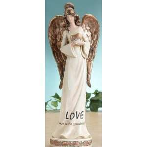 Angel With Golden Wings Collectible Love Decoration Figurine Decor