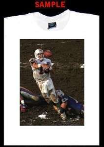 DAN MARINO CUSTOM PHOTO T SHIRT TEE dolphins miami 956