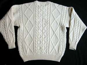 Murray Brothers Pure New Wool Knit Sweater Mens M Scotland