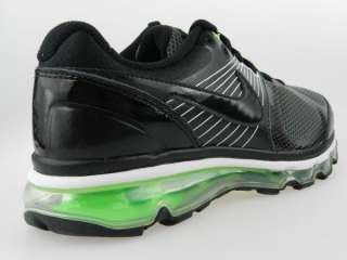 NIKE AIR MAX 2010 GS NEW Boys Girls Youth Black Green Shoes Size 6Y