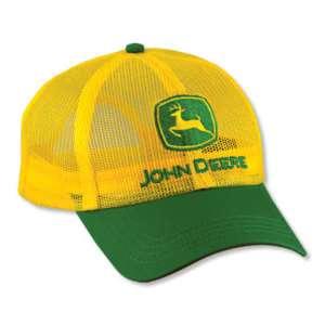 John Deere Yellow Full Mesh Adult hat 299