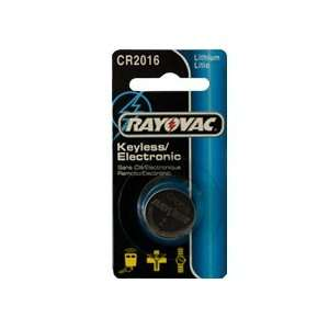 25 x CR2016 Rayovac 3 Volt Lithium Coin Cell Batteries Electronics