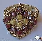 Granatring Antikring Gold Ring Ringe 14Kt 585 14 Kt Gold Granate