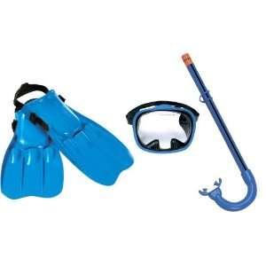 Childs Master Class Swim Mask, Snorkel and Fins Set