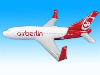 Boeing 737 800 Air Berlin aufblasbar aufblasbares B737
