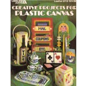 Creative Projects for Plastic Canvas: 13 Projects: Leisure Arts: Books