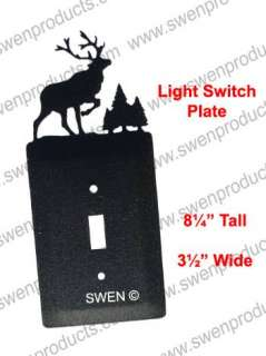 ELK WILDLIFE CARIBOU Light Switch Plate Cover ~NEW~