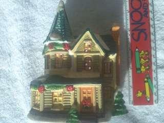 porcelain lighted house accessory no box no light figurine