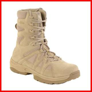DESERT TAN 8 EXO BOOTS (military army tactical gear footwear)