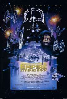 STAR WARS EMPIRE STRIKES BACK MOVIE POSTER 1 Sided Special Edition