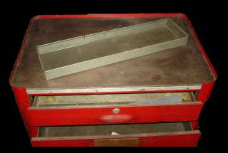 PRESSTEEL ToolMobile Tool Box Chest PLOMB PLVMB PROTO TOOLBOX Vintage