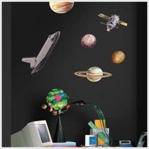 RoomMates RMK1003SCS Space Travel Wall Decals