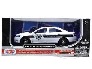 Ford Police Interceptor Concept Highway Patrol die cast car by