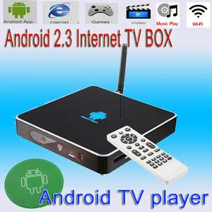 TV Box Media Player Google Smart TV HD 1080P HDMI Wireless Network