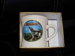 American Expedition Gray Wolf Wildlife Diner Mug New
