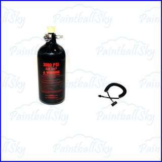 Guerrilla Air 48ci 3000psi N2 Paintball Tanks HPA + Heavy Duty Remote