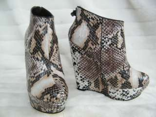 BEBE SHOES sandals heel platform CASSIDY 183411 snake