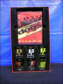 Reservoir Dogs 15th Anniversary Glass Shot Glasses