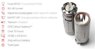 JIL Lite J2 Natural LED Bullet Flashlight Torch
