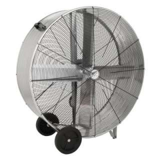 MaxxAir 42 in. 2 Speed Belt Drive Barrel/Drum Fan BF42GALVLTL at The