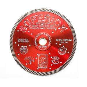 Dtec 10 In. Superior Diamond Blade   Wet/Dry Multi Purpose Superfast