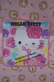 Sanrio Hello Kitty Rose Series Face Towel Handkerchief