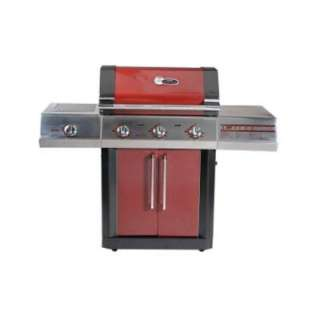 Char Broil RED TRU_Infrared 3 Burner Dual Fuel Gas Grill 463250110 at
