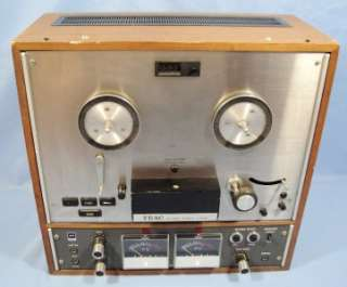 Teac Model AR 40S Stereo Reel To Reel Tape Deck