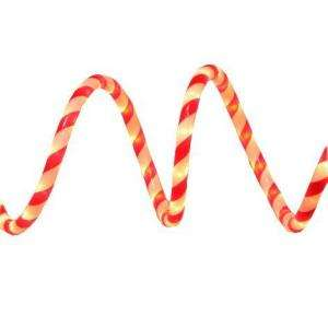 Home Accents Holiday 18 ft. Candy Cane Rope Light Kit, Red and White