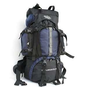 60L camping hiking Travel Rucksack holiday Backpack B48