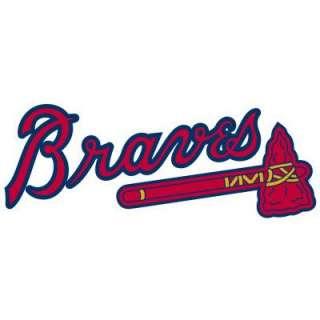 Fathead 50 In. X 20 In. Atlanta Braves Logo Wall Appliques FH63 63206