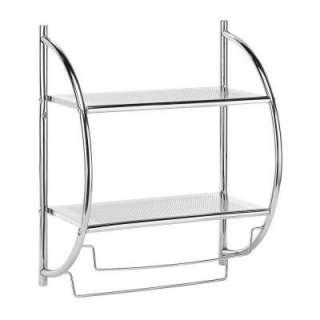 Whitmor Chrome Shelf and Towel Rack 7060 3570 BB