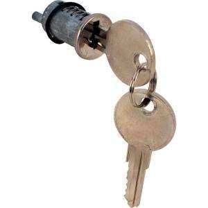 Prime Line Sliding Door Cylinder Lock Wafer Type 1 in. Door Die cast E
