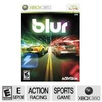 Activision Blur Combat Racing Video Game   Xbox 360, ESRB E10+