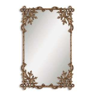 18 In. X 28 In. Petite Metal Framed Mirror 12757