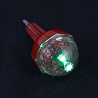 2pcs LED Fising Bobber Light In Dark Floats Lures Alarm (Green Wait