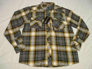 60 NWT Mens Enyce Button Down Shirt Plaid 2XL XXL H163
