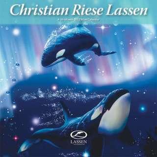 Christian Riese Lassen 2012 Mini Wall Calendar