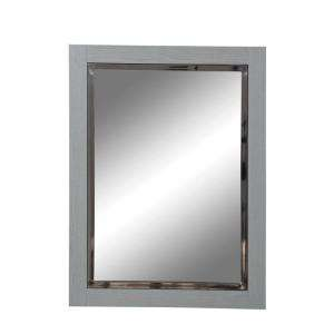 in. x 24 in. Birch Slate Framed Wall Mirror 9719 SLT