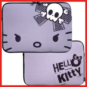 Hello Kitty Mac book Case/LapTop Formed Bag Angry Kitty