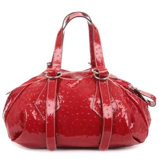 VIVIENNE WESTWOOD London woman Red Leather Hand Bag New From Shop