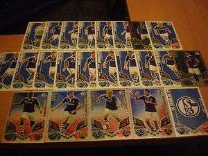 Match Attax 11/12   FC SCHALKE 04  ALLE Karten zum Aussuchen