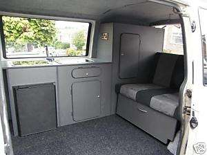 VW T4/T5 CAMPER INTERIOR (furniture kit, surf/day van)
