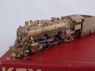 SCALE Brass 2 8 2 Santa Fe ATSF Class 3160 Steam Locomotive